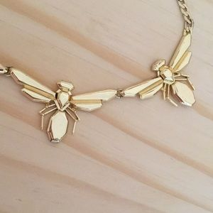 BaubleBar Jewelry - Gorgeous scarab collar necklace